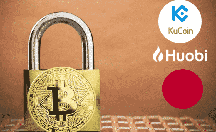 Huobi another crypto exchange KuCoin to stop trading in Japan