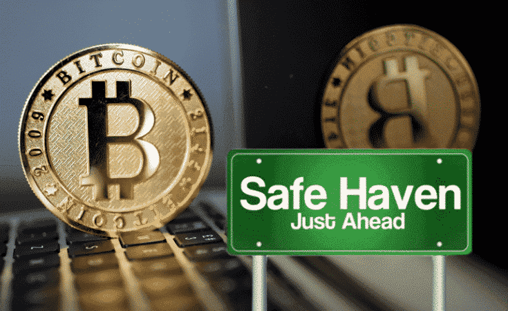 Bitcoin No longer the safe haven