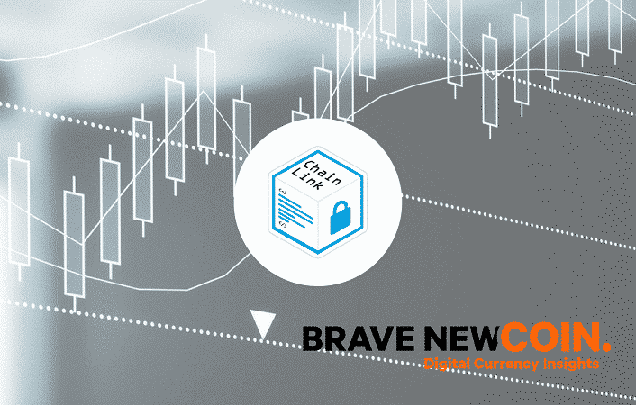 Blockchain and Brave new coin partners with Chainlink