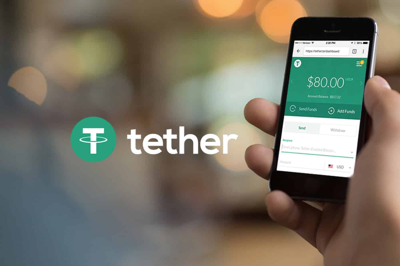 Tether Pricing Issues
