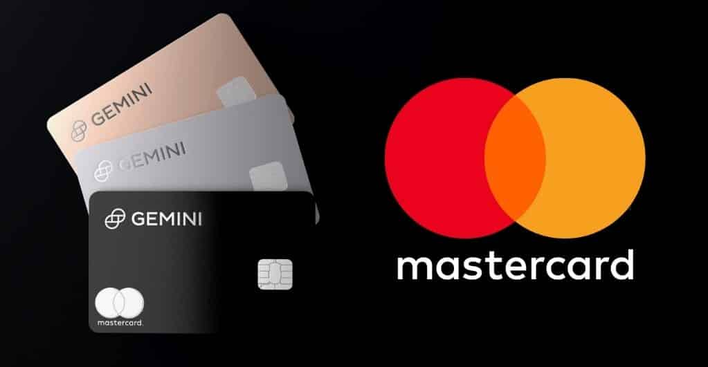 Mastercard Partners with Gemini Credit Card